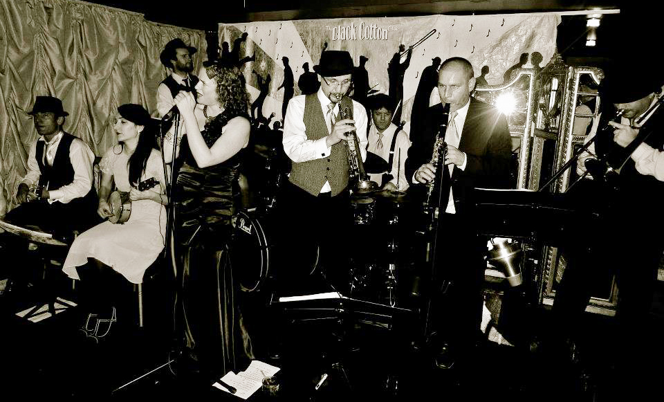 The Silver Ghosts 1920s Prohibition Gatsby Party Band